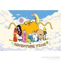Adventure Time Clouds Mini Poster