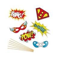 Npw Selfıe Kıt Superheroes - Süper Kahramanlar - Selfie Kiti
