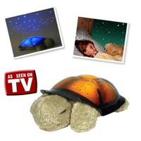 Pratica Renk Değiştiren Müzikli Kaplumbağa Gece Lambası