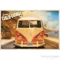 Vw Camper Cali Postcard Maxi Poster