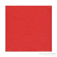 KullanAtMarket Kırmızı Kağıt Peçete