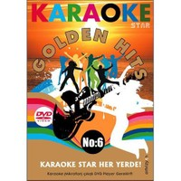 Karaoke Star No:6 Golden Hits (Mikrofon Hediyeli)