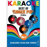 Karaoke Star No:7 Best of Türkçe Pop - Retro (Mikrofon Hediyeli)