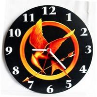 Köstebek The Hunger Games Duvar Saati Ahşap Duvar Saati