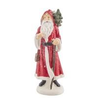 Pandoli Hediye Dağıtan Noel Baba Figürlü Yılbaşı Mumu 1 Adet