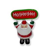 Ho Ho Ho Yazılı Noel Baba Figürü