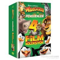 Madagascar 4 Film Koleksiyonu (DVD)