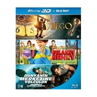 Hugo - Felaket Henry - Dünyanın Merkezine Yolculuk (3D BD Box Set)