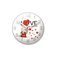 Time Gold Mıknatıslı Buzdolabı Saati Love