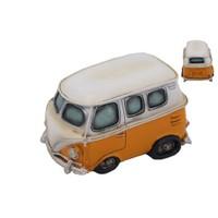 Turuncu Minibüs Figürlü Kumbara