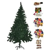 180 Cm Yılbaşı Ağacı + Çam Ağacı Süsleri
