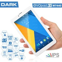 "Dark EvoPad M7440 8GB 7"" IPS 3G Tablet"