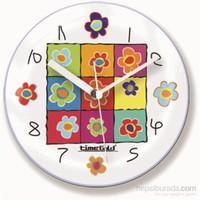 Papatyalı Mıknatıslı Saat