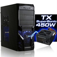TX Super Sonic 450W Mid Tower ATX Kasa (TXCHSUPER450)