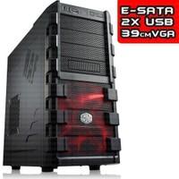 Cooler Master HAF 912 Plus 20cm Kırmızı Led Fanlı Mid Tower Siyah Kasa (CM-RC-912P-KKN1)