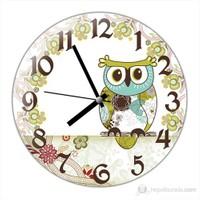 İf Clock Baykuş Duvar Saati