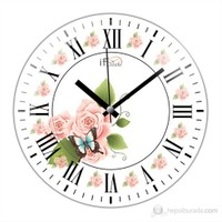 İf Clock Roma Rakamlı Duvar Saati