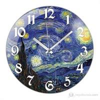 İf Clock Yıldızlı Gece Duvar Saati