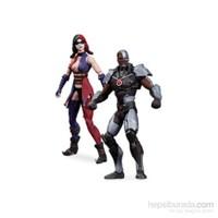 Cyborg&Harley Quinn Af