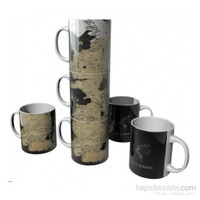 Game Of Thrones: Map Of Westeros Mug Set