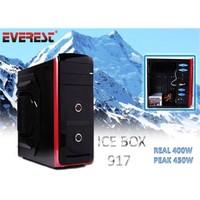 Everest Ice Box 917 Real-400W Peak-450W Siyah Kasa