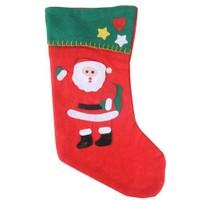Carda Çorap Şeklinde Yılbaşı Hediye Kesesi