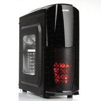 Dark Dragon 500W 3x12cm Fan, 1xUSB 3.0, Pencereli ATX Siyah Kasa (DKCHDRAGON500)