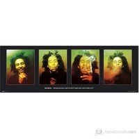 Bob Marley Excuse Me Door Poster
