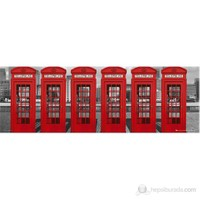 London Phoneboxes Midi Poster