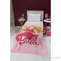 Mink Lisanslı Tek Kişilik Battaniye-Barbie 21