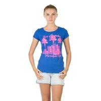 Colin's Mavi Kadın Tshirt Kısa Kol