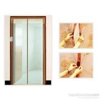 Mıknatıslı Kapı Sinekliği 80 Cm X 210 Cm Krem