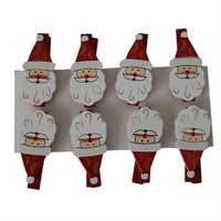 8 Li Noel Baba Mandal Süsleri