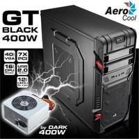 Aerocool Ae-Gt-400 Mıd Tower 400W Siyah Oyuncu Kasa