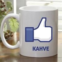 Facebook Like Kahve Kupası