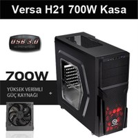 Thermaltake Versa H21 700W USB 3.0 Pencereli Kasa CA-3B2-70M1WE-00