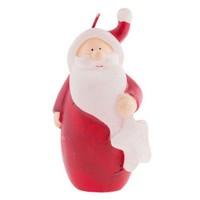 Dekoratif Kırmızı Noel Baba Yılbaşı Mumu