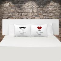 Bay Bayan Her Zaman Haklı Çift Yastık