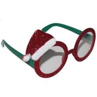 Kukuleta Kırmızı Simli Yeşil Gözlük