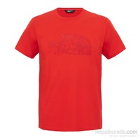 The North Face Erkek S/S WOODCUT DOME TEE T-Shirt