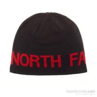 The North Face Reversible Tnf Banner Beanie Erkek Bere Siyah/Kırmızı