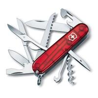 Victorinox Huntsman Kırmızı Şeffaf Çakı
