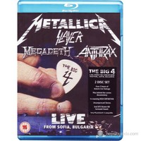 Metallica And Slayer And Megadeth And Anthrax - The Big Four:Sonisphere Live From Sofia Bulgaria (Blu-Ray)