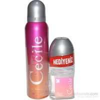 Cecile Lovely 150Ml Kadın Deodorant + 50Ml RollOn Set