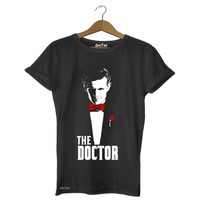Dyetee The Doctor Bayan T-Shirt