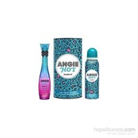 Rebul Angie Hot Leopard Edp 50Ml Kadın Parfüm + 150 Ml Deodorant Set