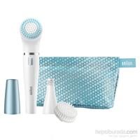 Braun Face Yüz Epilatörü ve Yüz Temizleme Cihazı Özel Seri (Çanta ve Peeling Fırça Başlığı ile) SE832e