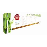 Kamışlı Ney Eğitim Seti (1 Ney + 1 CD + 1 DVD + 1 Kitap)