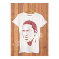Dyetee Tipo Eminem Bayan T-Shirt