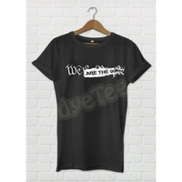 Dyetee Anonymous We Are 99 Bayan T-Shirt